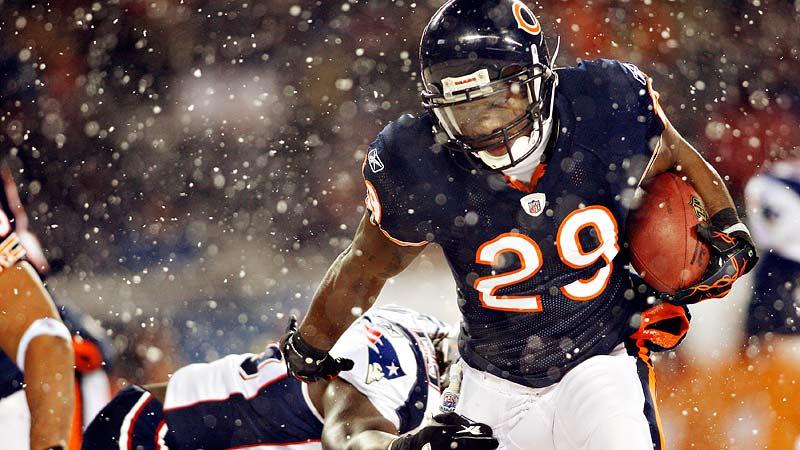 Patriots 36, Bears 7