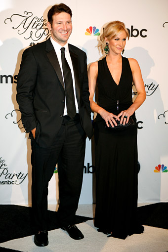 Tony Romo and his girlfriend Candice Crawford