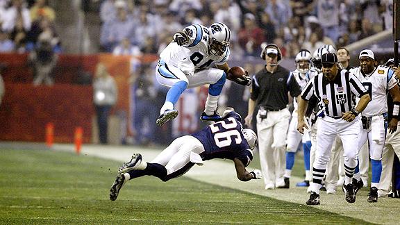 Super Bowl XXXVIII, Jermaine Wiggins