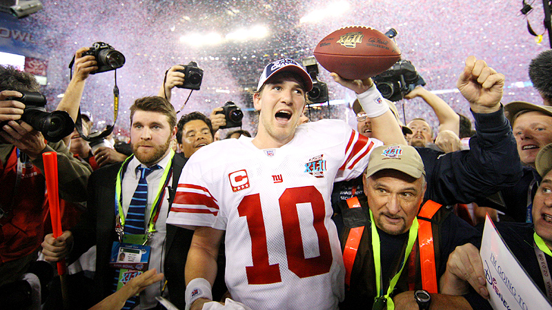 Super Bowl XLII, Eli Manning