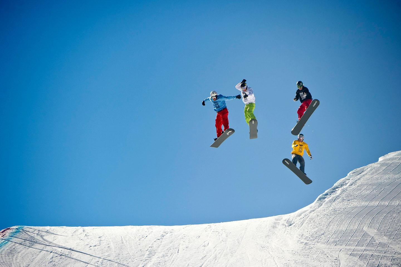 Nick Baumgartner, Snowboarder X