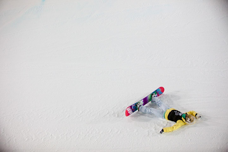 Gretchen Bleiler, snowboard SuperPipe