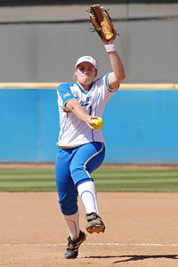 Megan Langenfeld's postseason performance in 2010 was one for the ages.