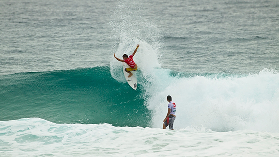 Alejo Muniz and Jordy Smith