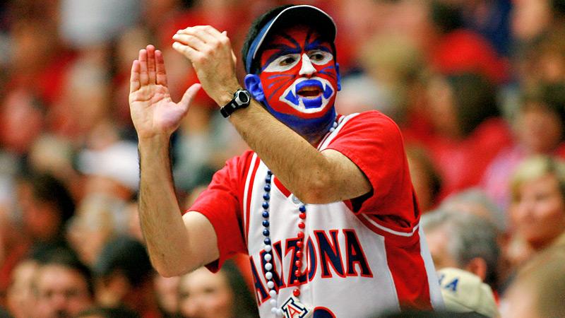 Arizona Basketball Wildcats Fan