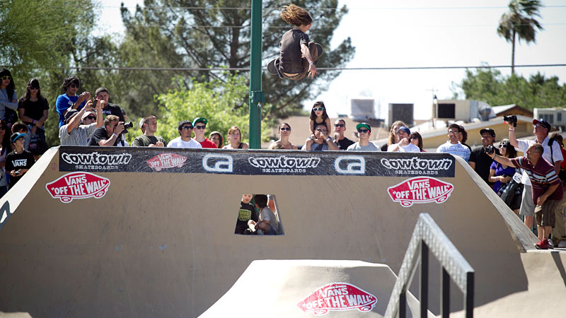 Collin Provost, frontside air