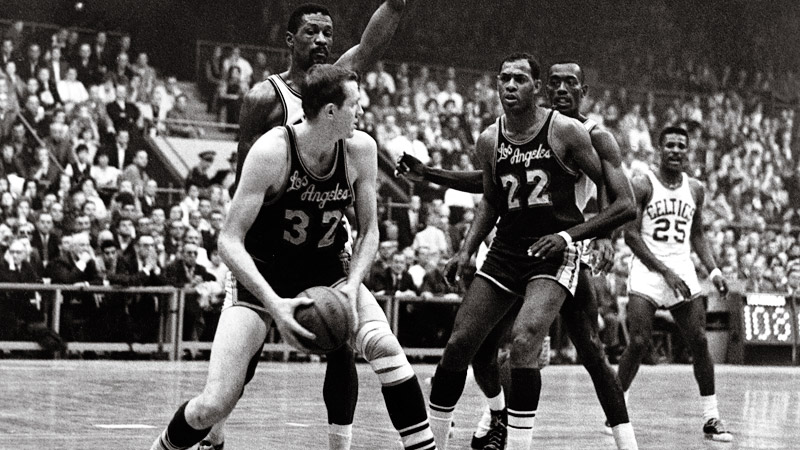 Elgin Baylor Points Record