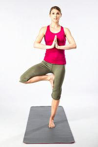 Performing the tree pose is just one way to calm your body and mind and be more present.