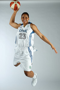 Maya Moore is just one of the talented young stars in the WNBA. Moore makes her regular-season debut in the WNBA season opener in Los Angeles tonight.