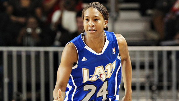 Between travel and speaking engagements, Tamika Catchings had a whirlwind offseason and is now preparing for the upcoming WNBA season.