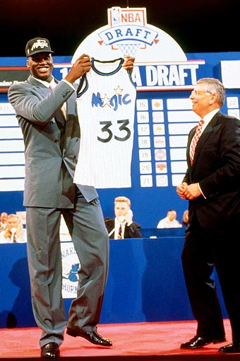 Shaquille O'Neal, draft