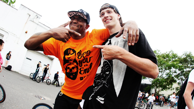 Big James and Cult's Little Nick Seabasty. a class=launchGallery href=http://espn.go.com/action/photos/gallery/_/id/6649490/cult-crew-long-island-bikes-jamiLaunch Gallery »/i/a