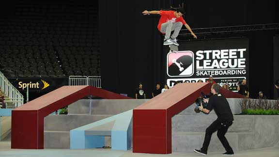 Nyjah's nollie tricks