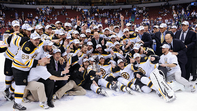 Bruins Pose
