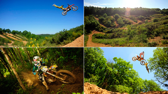 The Royal Experience in the South of France has everything a dirt bike rider could ever want. a class=launchGallery href=http://espn.go.com/action/photos/gallery/_/id/6668937/masters-dirt-crew-heads-south-france-royal-hillsLaunch gallery »/a