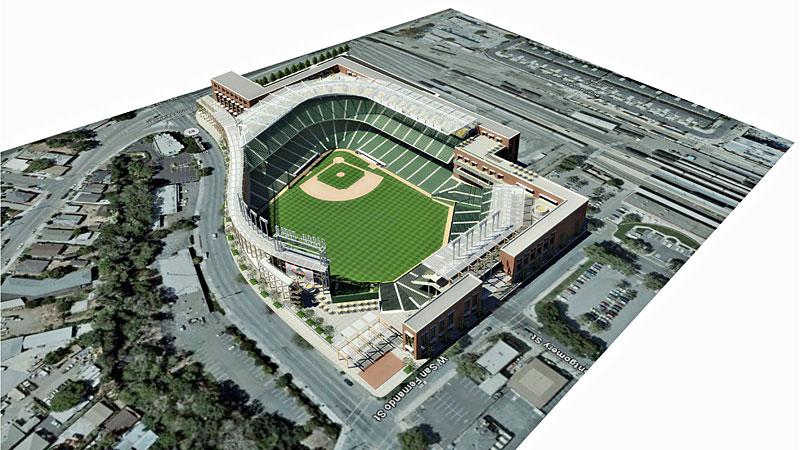 A's Stadium Renderings