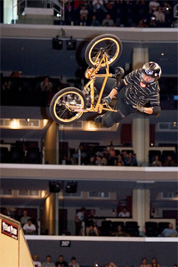 Who could forget the year Dave Mirra showed up for X Games on a gold-plated bike?