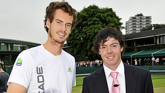 Andy Murray and Rory McIlroy