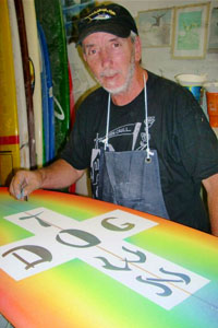 Chris Cahill, artist and original Z-Boy.