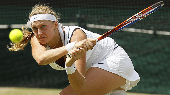Petra Kvitova, 21, became the first Grand Slam champion born in the 1990s.