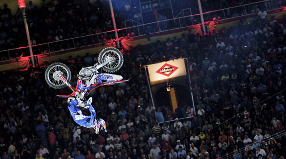 In his second Red Bull X-Fighters event of the year, young Australian Josh Sheehan continues to impress, placing third in Rome followed by Madrid.