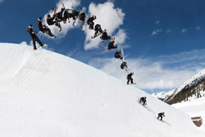 Shaun White has been a Red Bull athlete for four years.