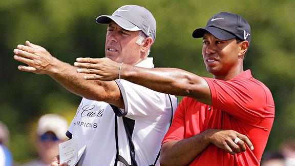 The words may be yet to come for Tiger Woods if Steve Williams tells all.