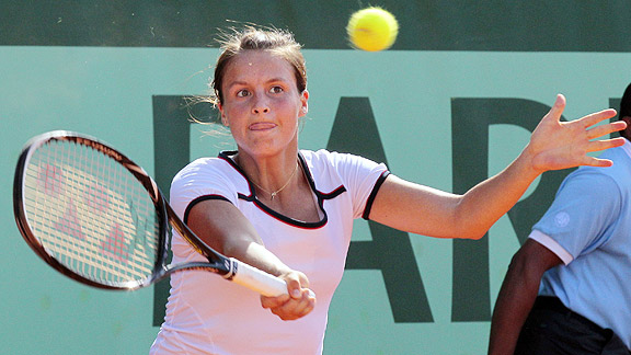 Tatjana Malek is one of the 128 hopefuls in the qualifying tournament for the U.S. Open.