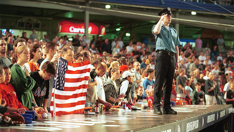 Sports return to New York after 9/11