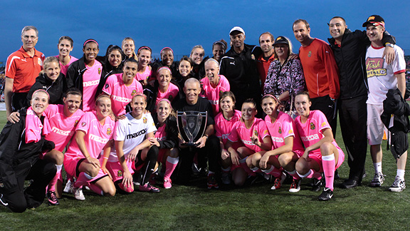 The Western New York Flash, led by superstar Marta, made it to the WPS final as an expansion team.