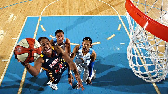 Tamika Catchings would like to lead her team into the playoffs on a high note.