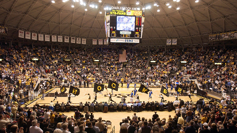 Koch Arena (Wichita State) - Our Bucket List of College ...