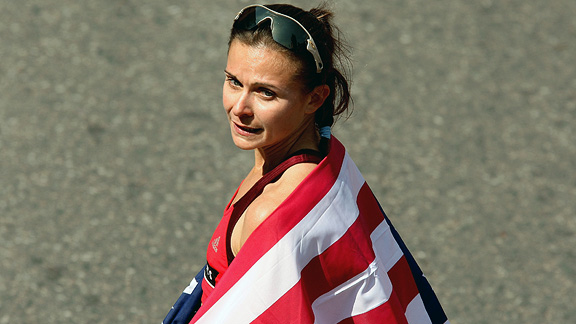 Lewy-Boulet placed second at the 2008 U.S. Olympic marathon trials to earn her spot in Beijing.