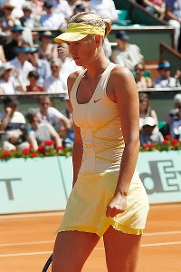 Among the Nike-designed outfits Maria Sharapova sported in 2011 was this buttercup-colored dress she debuted at Roland Garros in May.