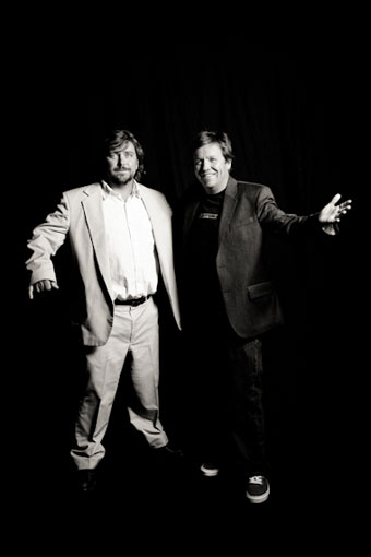 Steve and Todd Jones