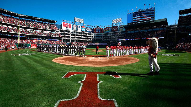 Rangers v Rays