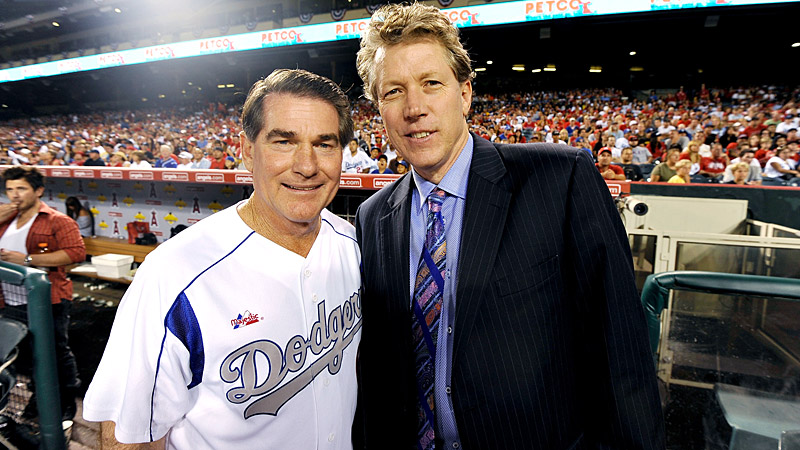 Steve Garvey and Orel Hershiser
