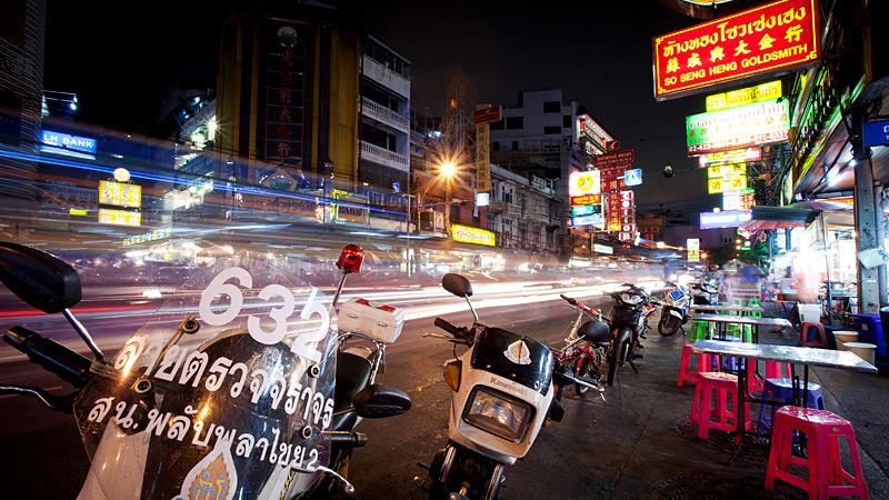 Nighttime in Bangkok