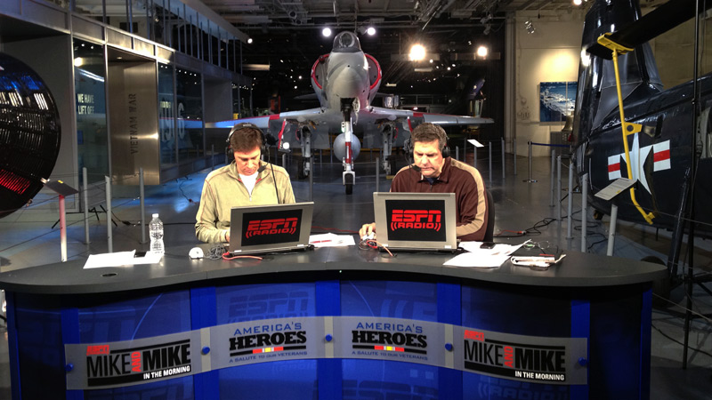 Mike & Mike Veteran's Week