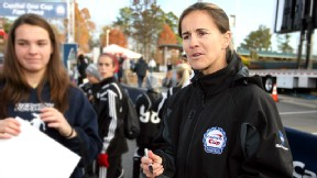 Brandi Chastain brings a champion's perspective to coaching.