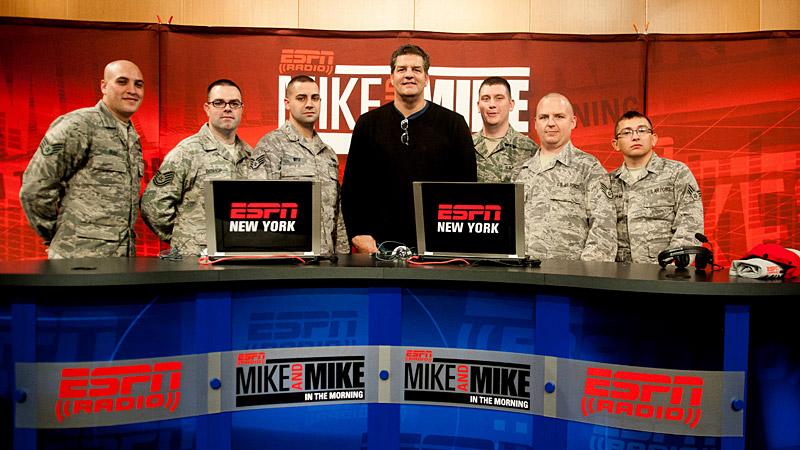 Mike & Mike MetLife Stadium