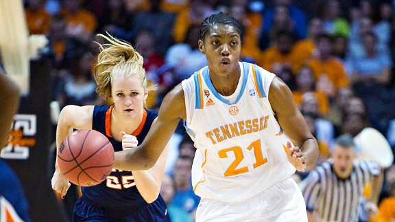 Lady Vols center Vicki Baugh is a full go for the first time since 2008.