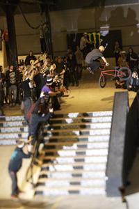 Corey Martinez took the hard trick win at Rebel Jam street.