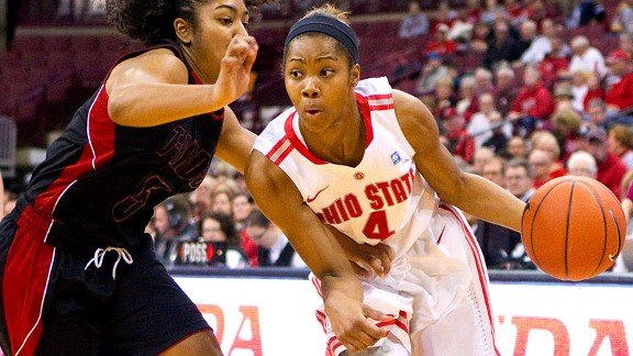 Junior guard Tayler Hill leads Ohio State in scoring with 21.8 ppg.