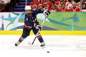 After 16 years, Angela Ruggiero played more games than any other Team USA player (256) and finished with 67 goals and 141 assists for 208 career points.