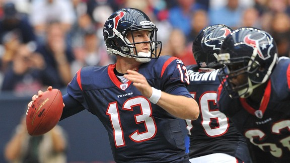 The T.J. Yates story was nice while it lasted, but injuries and rookie mistakes will doom the Texans and their QB this weekend.