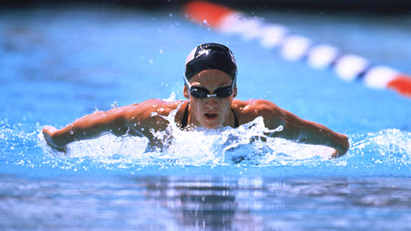 One day at Stanford, Summer Sanders stopped mid-workout and wondered why she should keep pushing.