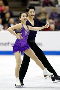 Maia and Alex Shibutani were second overall (72.61) after Friday's short dance at the U.S. Figure Skating Championships.