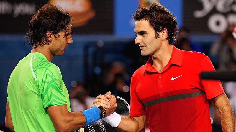 Rafael Nadal & Roger Federer