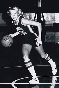 Val Ackerman played basketball at the University of Virginia.